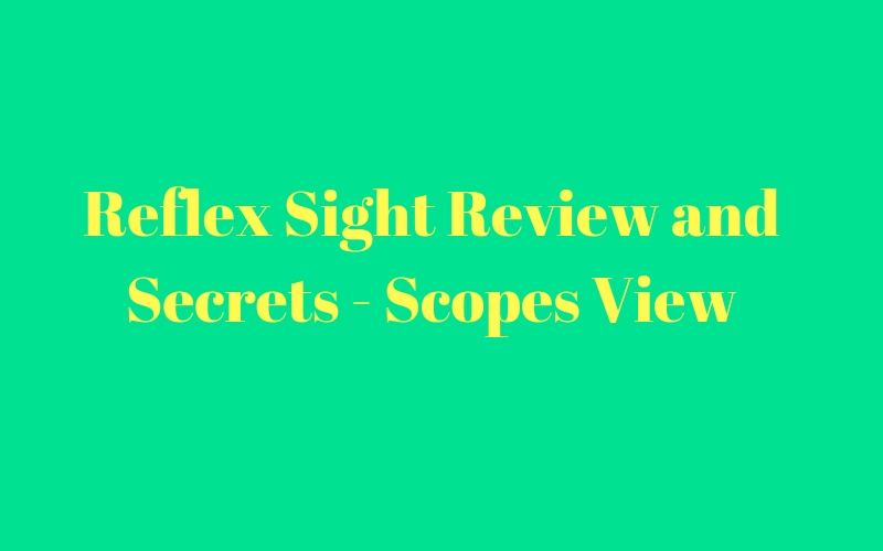 Reflex Sight Review